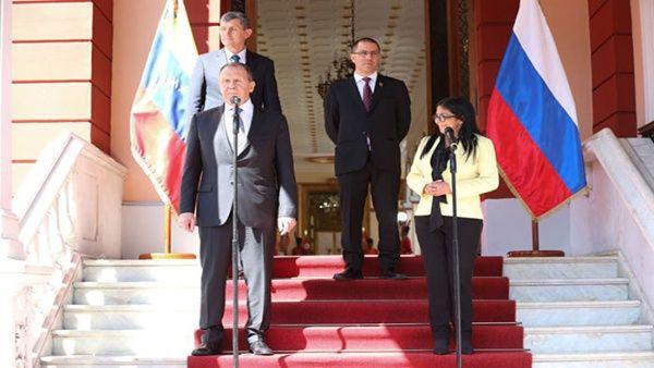 Ministre russe des Affaires étrangères: Nous confirmons notre soutien à Maduro et au peuple vénézuélien