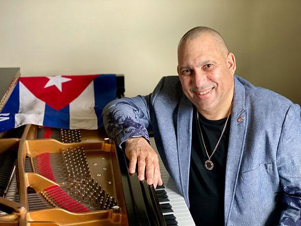 El pianista Nachito Herrera. Foto tomada de Internet