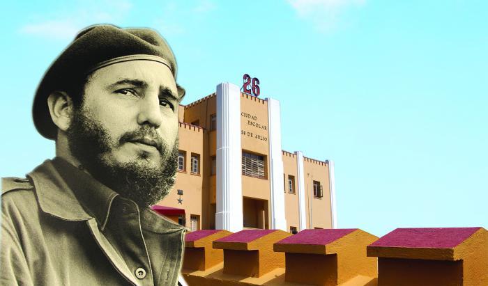 Santiago de Cuba sede del acto por el 55 aniversario de los Asaltos a los cuarteles Moncada y de Bayamo.