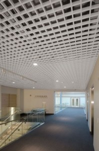 Suspended Ceiling for Hallway