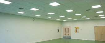 Suspended Ceiling for Hall
