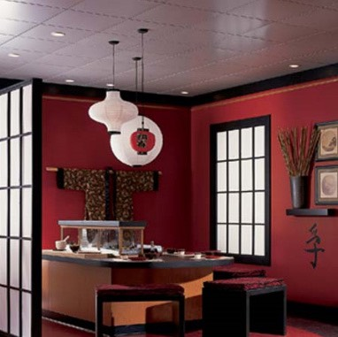 Suspended Ceiling for Chinese Room