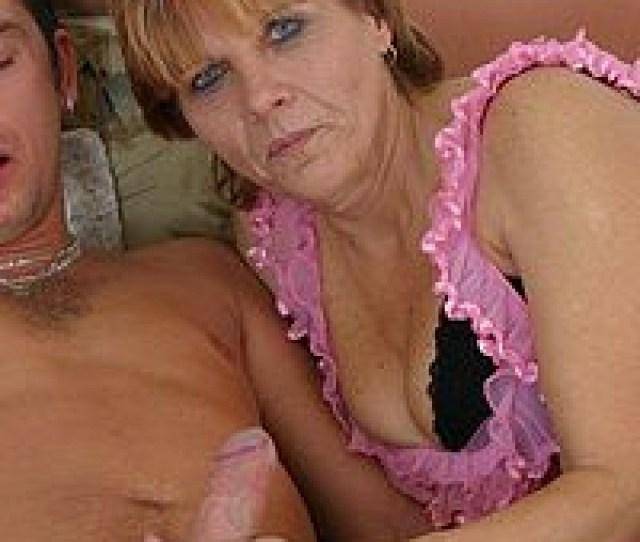 Horny Grandma Craving A Hard Young Cock