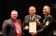 Sergeant Major Jon Smith Surprised With JROTC Award