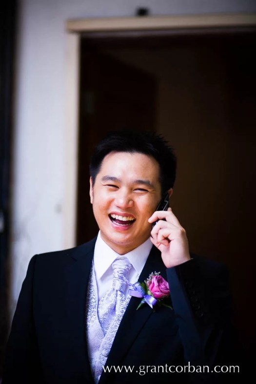Douglas Lim actor comedian and stand up comic wedding day photos