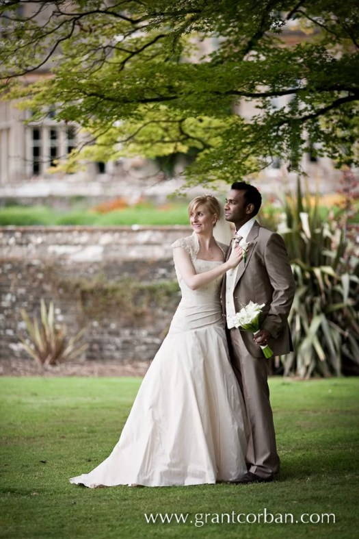 portrait, garden, Tortworth, Court, Hotel, Gloucestershire, wedding