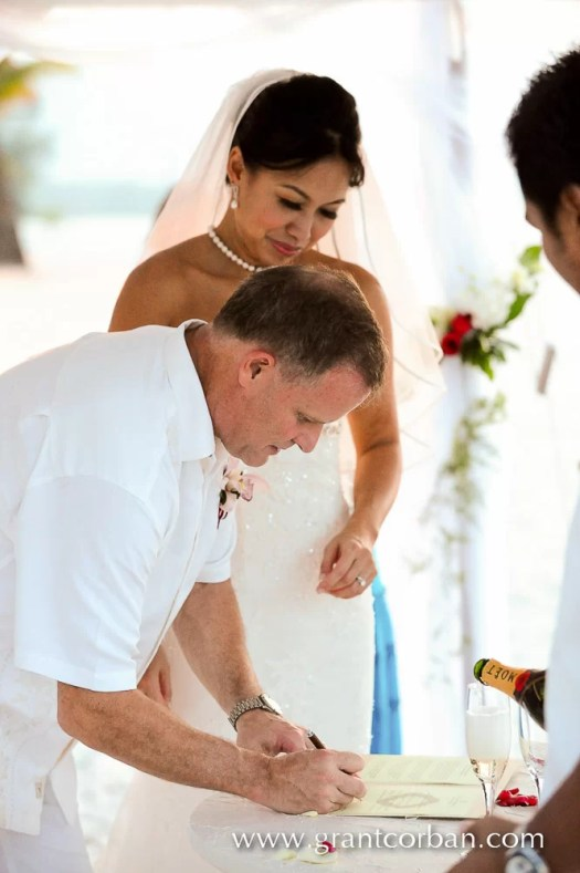 Beach Wedding at the Four Seasons Langkawi