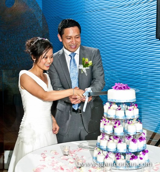 Wedding cake at the Westin Hotel Langkawi