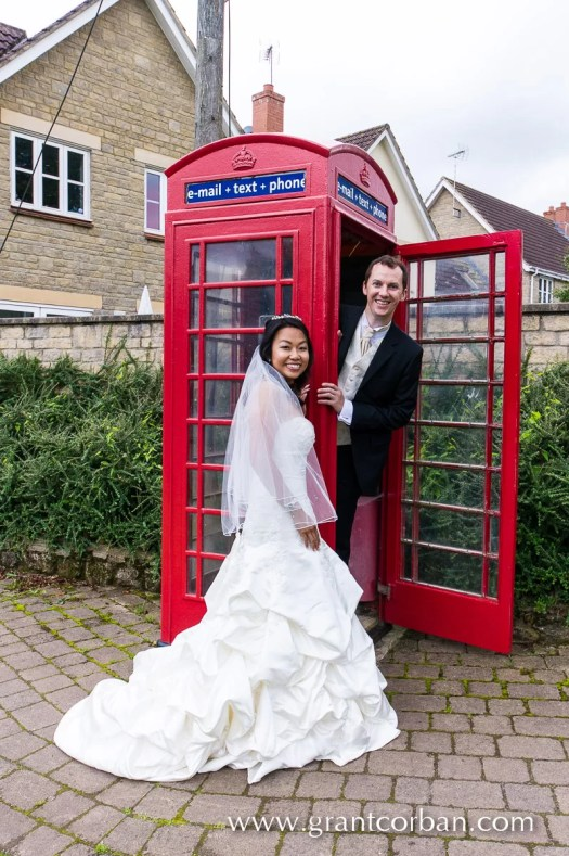 Mark and May Choo's wedding portraits in Winford and Bristol