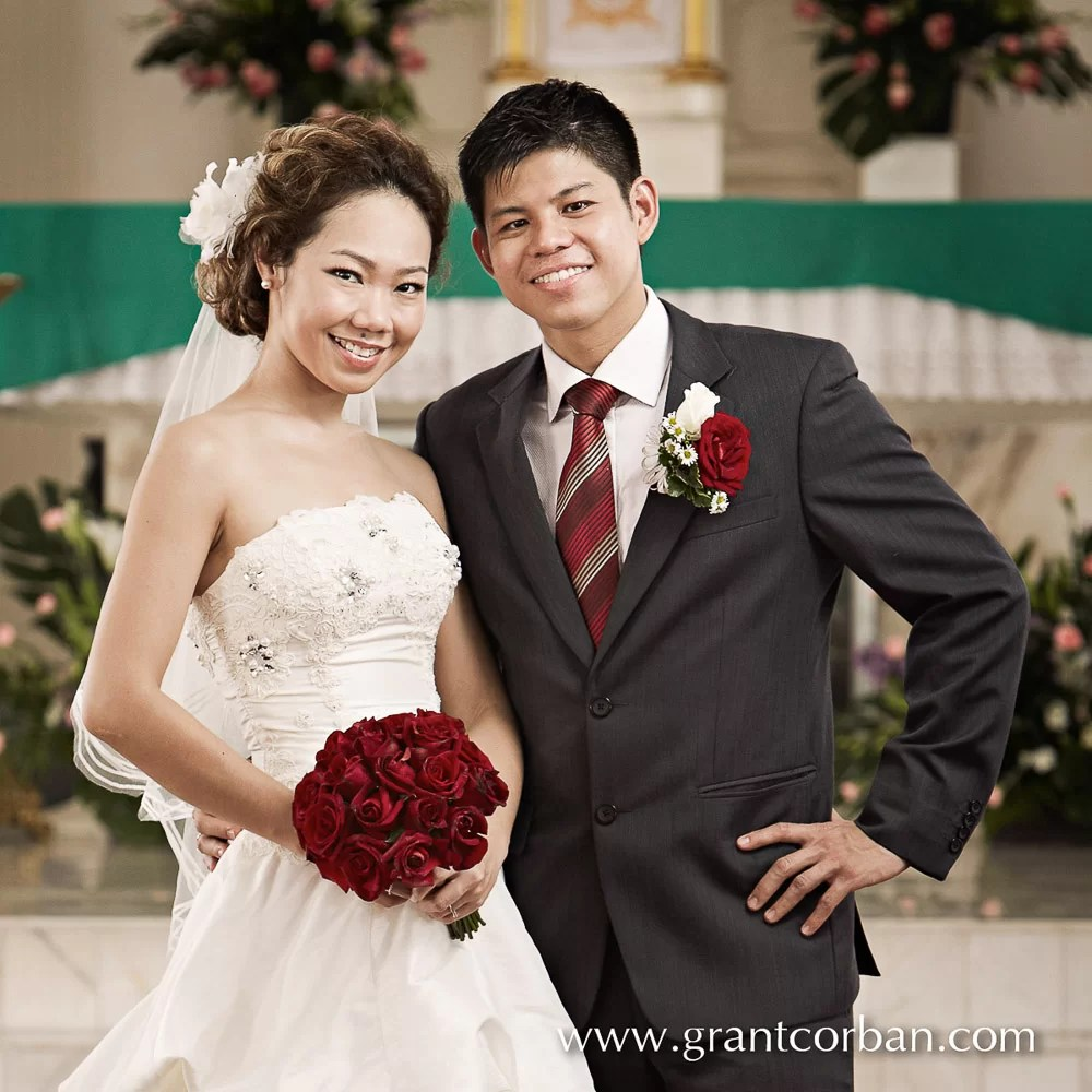 Our lady of lourdes Klang wedding portraits
