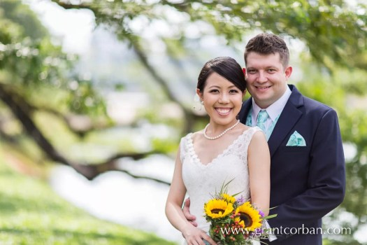 Wedding Portraits in Taiping lake Gardens