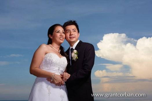 wedding portrait beach batu feringghi penang