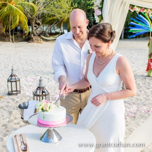 intimate pastel wedding at the four seasons langkawi malaysia by Grant Corban photography