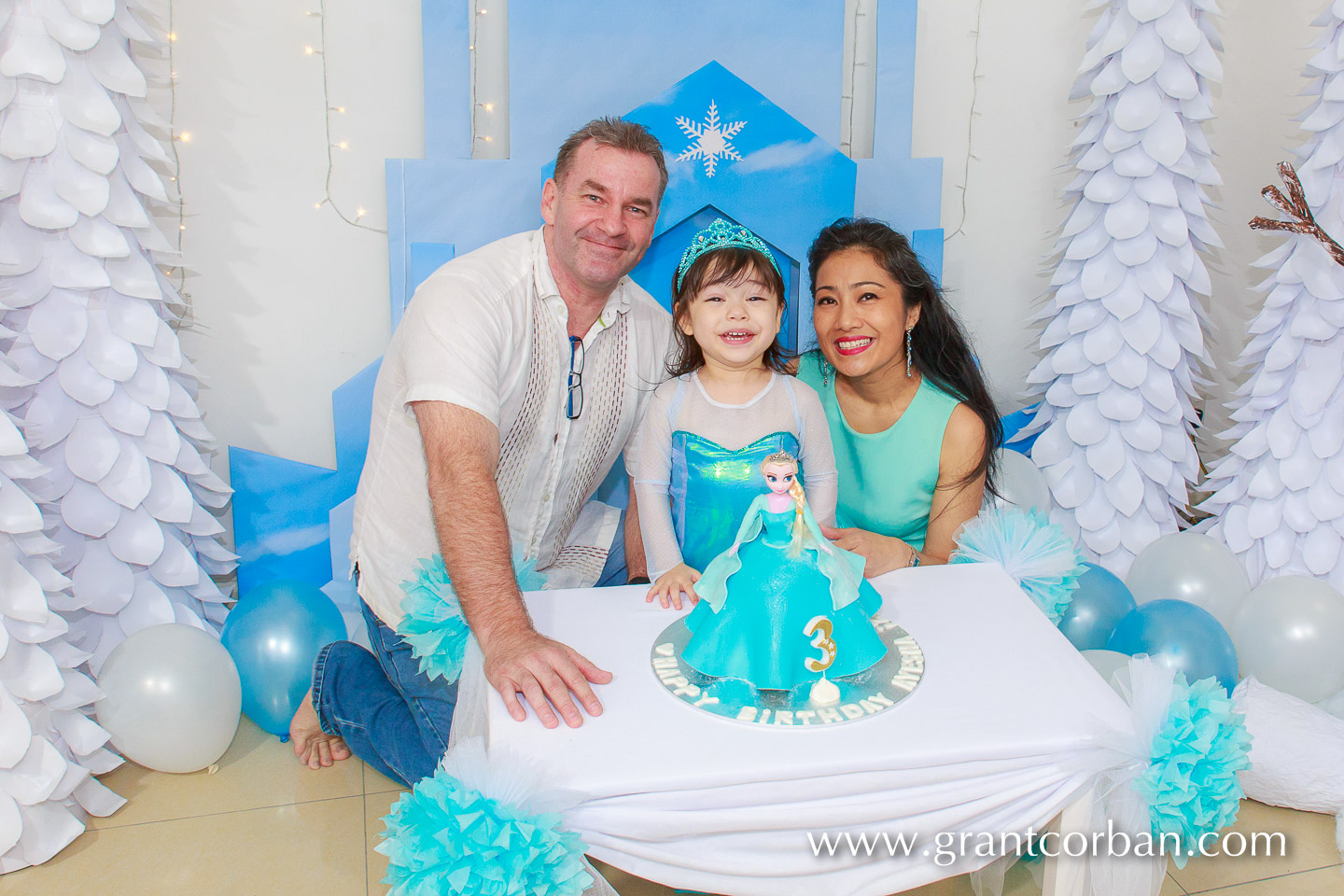 Princess Elsa Birthday Cake