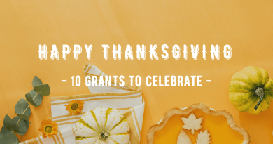 10 Grants for Thanksgiving 2020