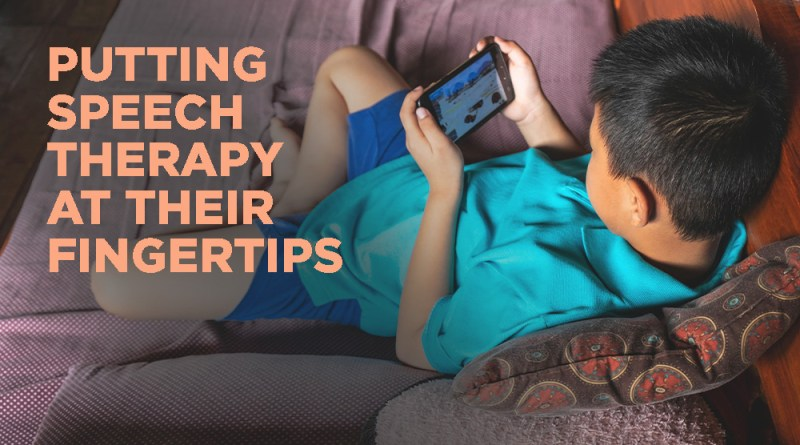 Grant to Use Video Games to Improve Speech Therapy