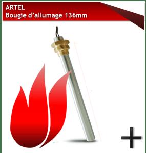 PIÈCES ARTEL BOUGIE 136MM