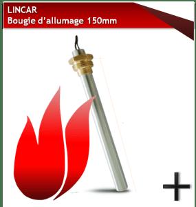 pièces lincar bougie 150mm