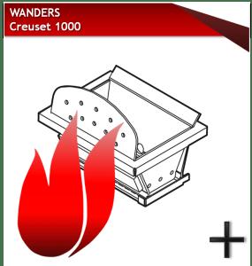 WANDERS creuset 1000