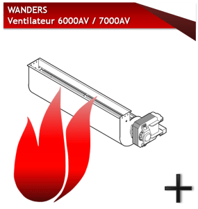 WANDERS ventilateur 6000-7000 av