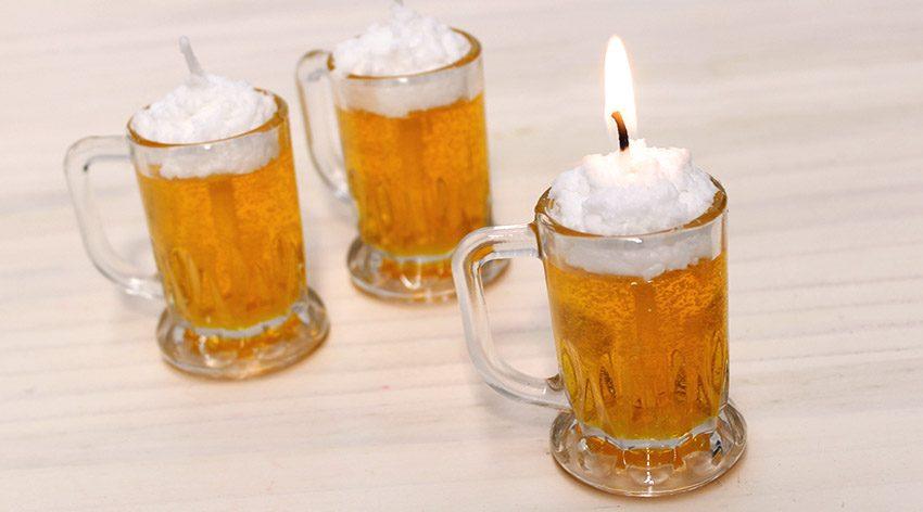 Velas De Cerveza Caseras Para Decorar Originales Y Decorativas - Comohacer-velas