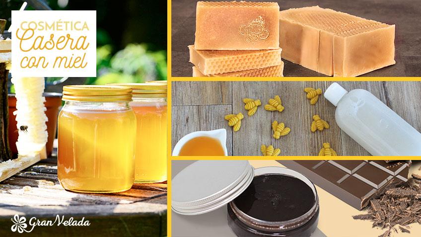 Cosmetica casera con miel