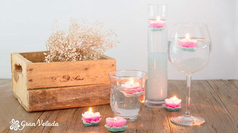 Ideas Para Decorar Con Velas Te Mostramos Como Hacer Facilmente - Ideas-para-decorar-velas