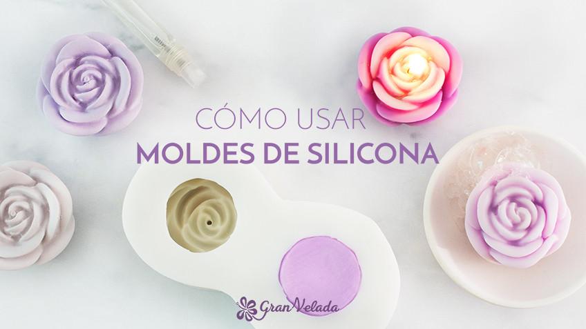 Como usar moldes de silicona
