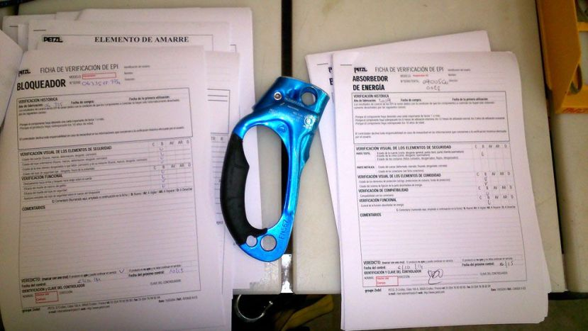 Inspección epi, revisión