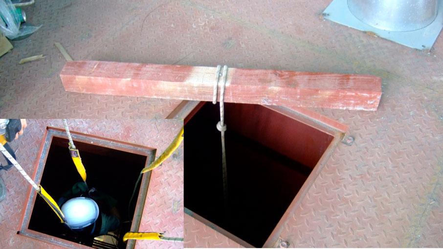 Trabajos verticales, 1 cuerda