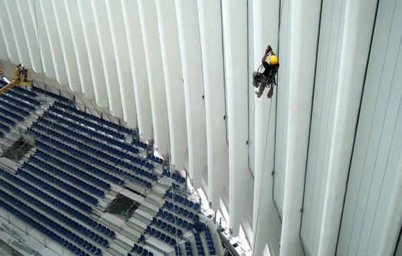Trabajos verticales, rope access