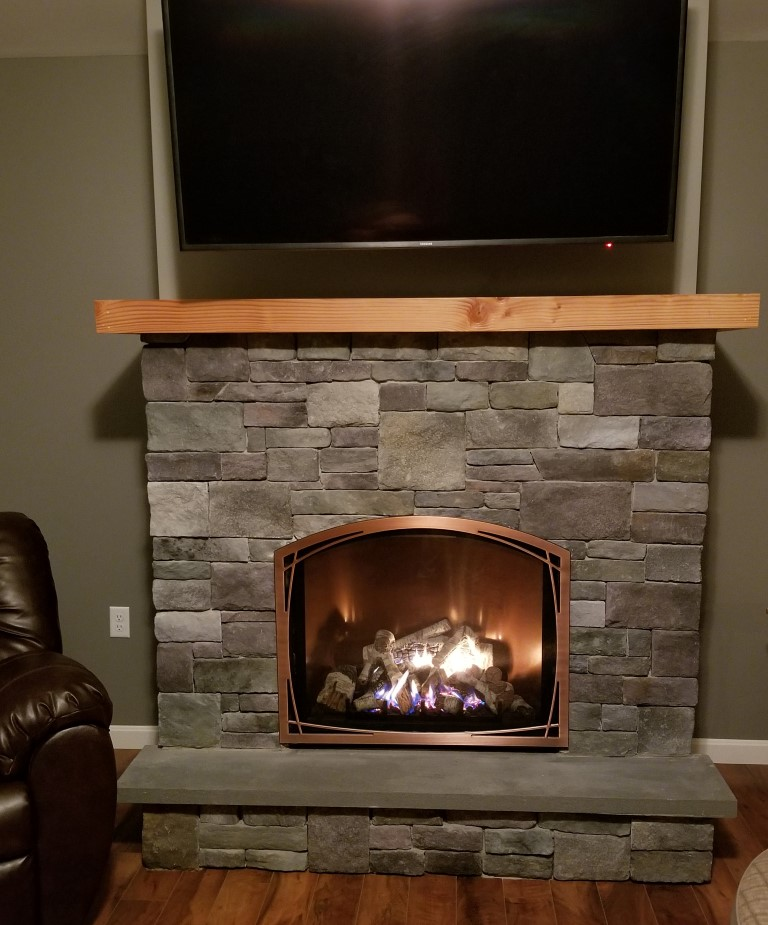 indoor gas fireplaces granville stone