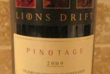 lion's drift pinotage
