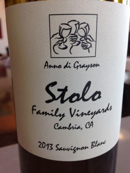 Stolo Family Vineyards Cambria, CA