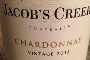 Jacob's Creek Chardonnay 2013