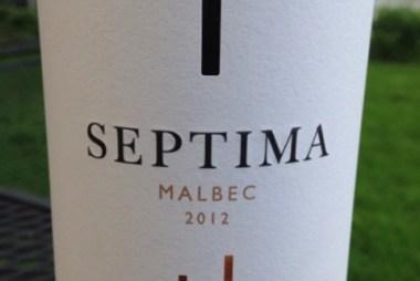 Septima Malbec 2012
