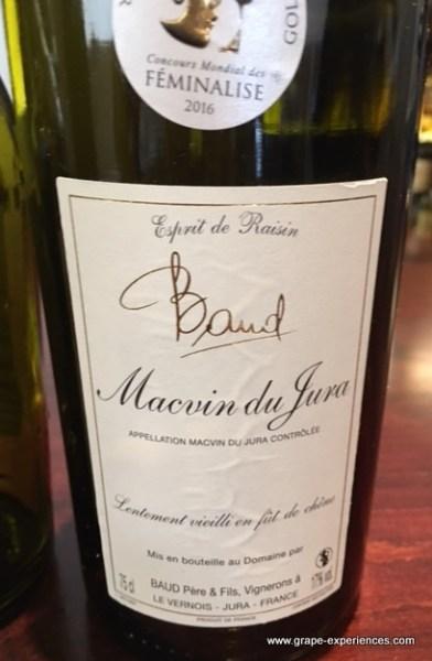 Jura Wine - Macvin