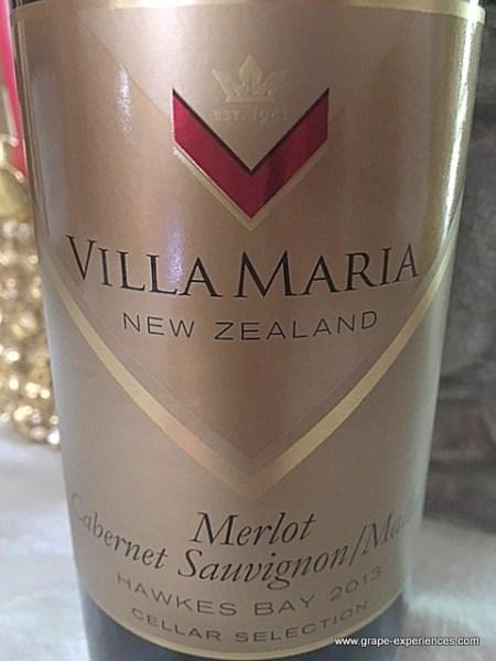 villa maria merlot/cabernet sauvignon/malbec