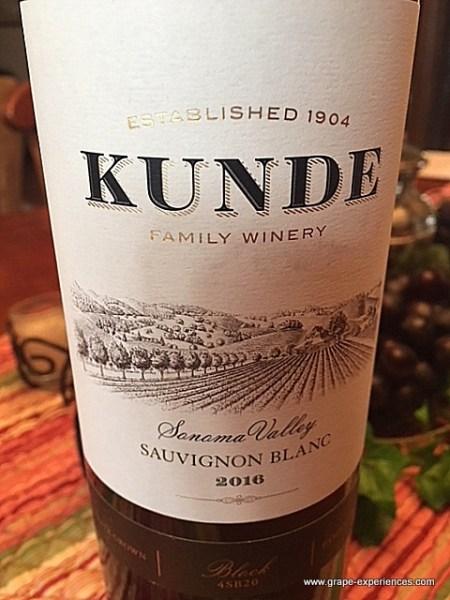 Kunde Family Winery Sauvignon Blanc