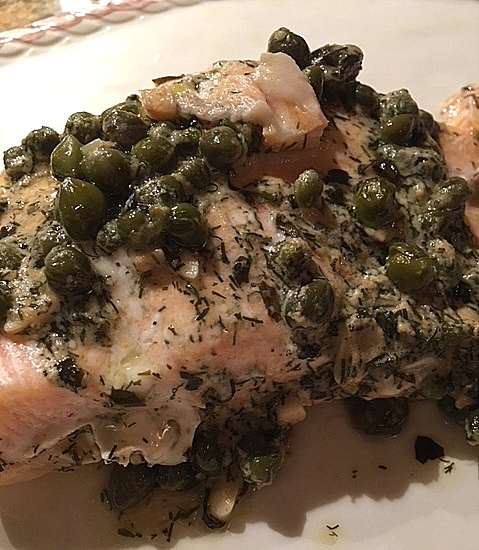 Albarino and Grilled Citrus Salmon
