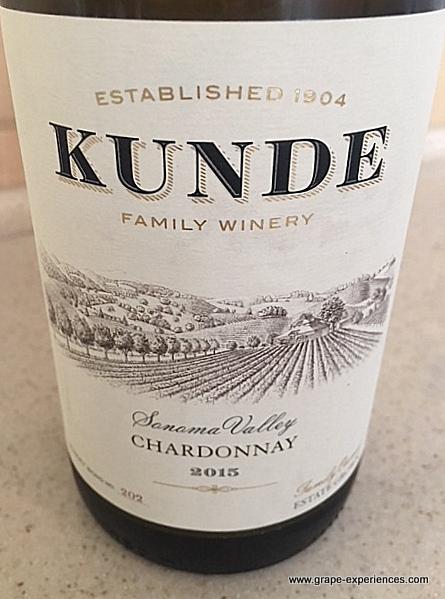 Kunde Family Winery Chardonnay