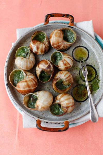 Escargots and Chablis