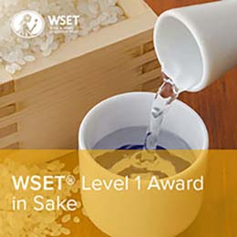 Taking WSET Level 1 Sake