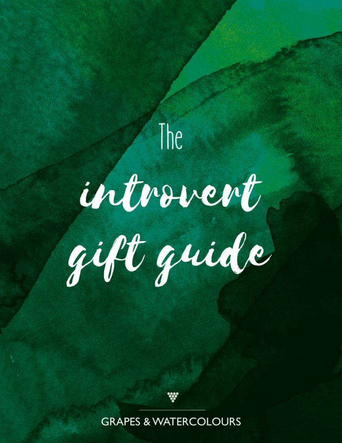 The introvert gift guide. Makes Christmas shopping easier (or at least, less awful).