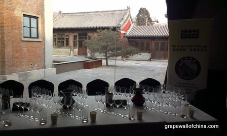 grape wall challenge 2013 at temple restaurant beijing china