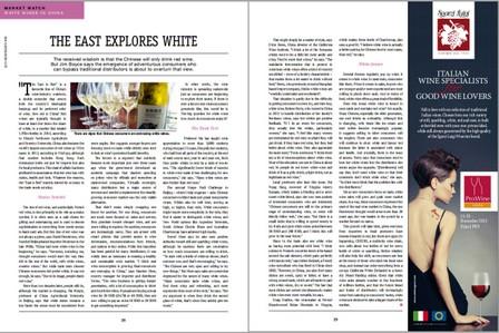 white wine in china by jim boyce wine business international