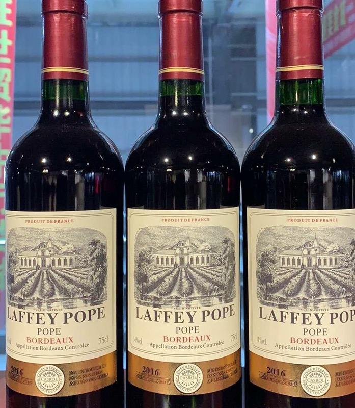 dodgy wine labels laffey pope