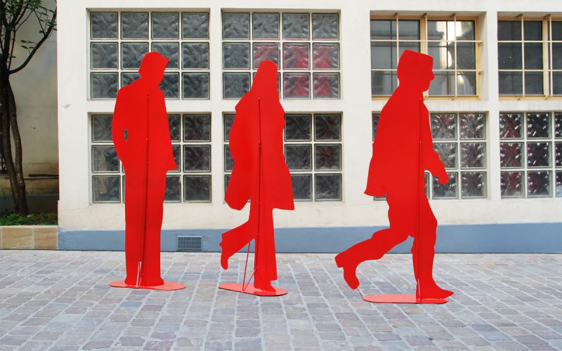 Red People Fromanger
