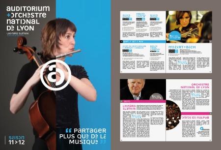 Design Graphique Programme Orchestre Musique Classique