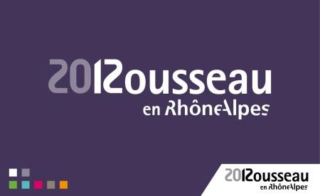 Identité visuelle Rousseau 2012 logo typographique